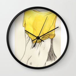 Les Femmes - Yellow Fever Wall Clock