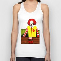 eat Tank Tops featuring EAT by Dano77