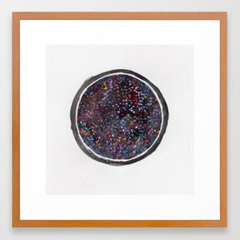 Space is Potential Framed Art Print