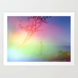 Finding Magic in the Smoky Mountains - Film Photograph Art Print