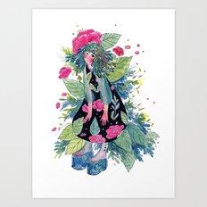 Rosemarie Art Print