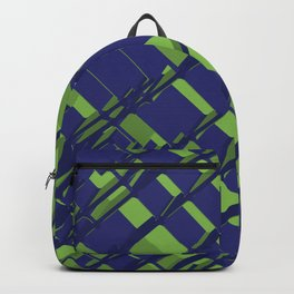 3D Abstract Futuristic Background III Backpack