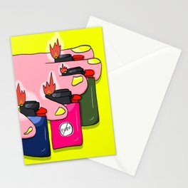 finger food Stationery Cards
