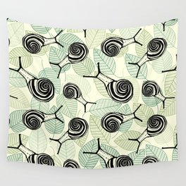 Snails Wall Tapestry