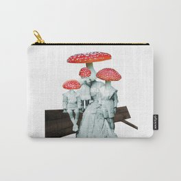 amanita muscaria with children Carry-All Pouch