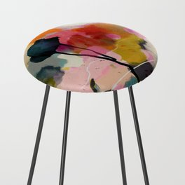 paysage abstract Counter Stool