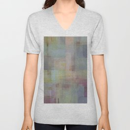 Abstract Geometry NO. 23 Unisex V-Neck