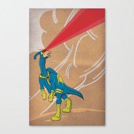 Paracyclophus - Superhero Dinosaurs Series Canvas Print