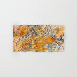 Old rust texture. Grunge rusted metal background. Hand & Bath Towel