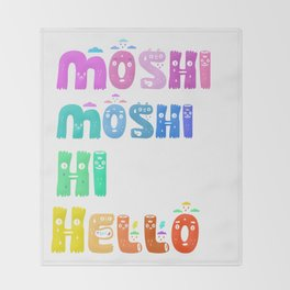 Moshi Moshi Throw Blanket