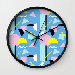 Postmodern Sea Wall Clock