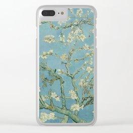 Almond Blossom Saint-Rémy-de-Provence, February 1890 Vincent van Gogh (1853 - 1890) , tree, white, f Clear iPhone Case