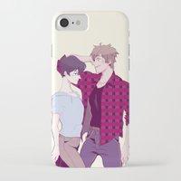 iwatobi iPhone & iPod Cases featuring Haru and Makoto by Alyssa Tye
