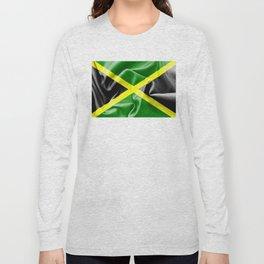 Jamaica Flag Long Sleeve T-shirt