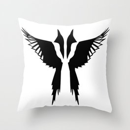 Pica and Pica Throw Pillow