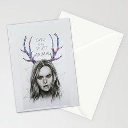 CARA is my SPIRIT ANIMAL Stationery Cards