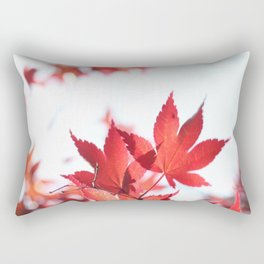 Red Maple by Denise Dietrich Rectangular Pillow