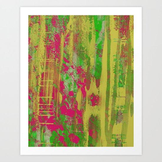 Abstract 12A.3 Art Print