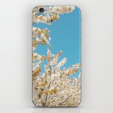 Wave of Flowers iPhone & iPod Skin