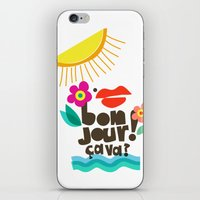 bonjour iPhone & iPod Skins featuring Bonjour! by Daily Thoughts