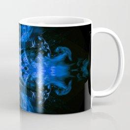 Blue Fire Dragons Coffee Mug