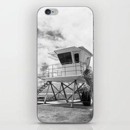 Lifeguard tower in Kauai, Hawaii iPhone Skin