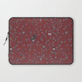Victorian Style Wallpaper Laptop Sleeve