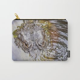 Gator Blowing Bubbles Carry-All Pouch
