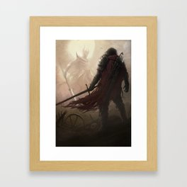 Sins of our fathers Framed Art Print
