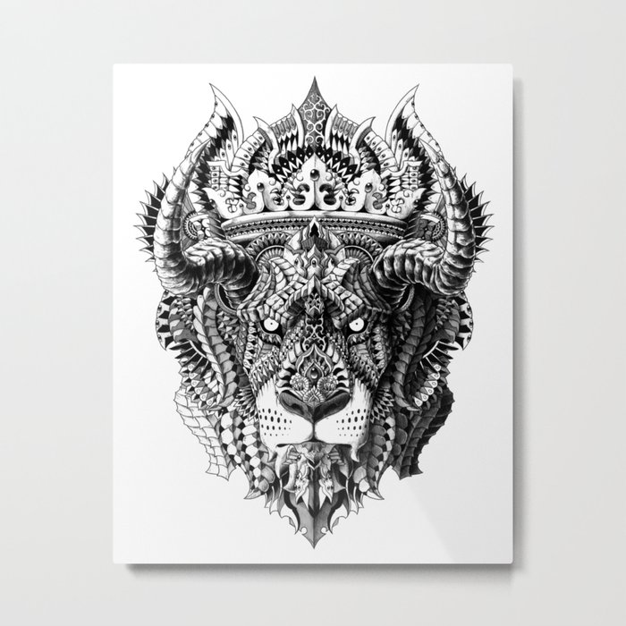 Lion King Metal Print