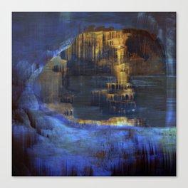 Cave 03 / The Interior Lake / wonderful world 10-11-16 Canvas Print