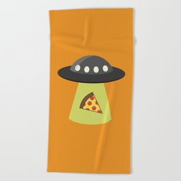 Take Me to Your Pizza Beach Towel