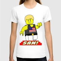 sam smith T-shirts featuring Sam by Millennium Gorilla