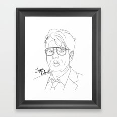 Liger Blood Framed Art Print
