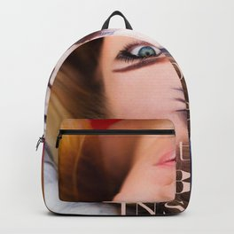 Beauty and The Beast Lives In Every Woman Backpack