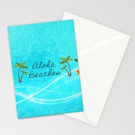 Aloha Beaches Stationery Cards