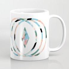 Abstract Brushstroke Circles Mug