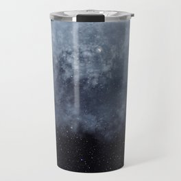 Blue veiled moon II Travel Mug