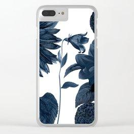 Blue Shift II Clear iPhone Case