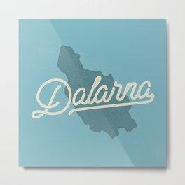 Dalarna Metal Print
