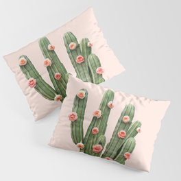 CACTUS AND ROSES Pillow Sham