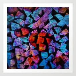 The Colour Of The Sea Art Print