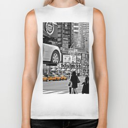 NYC - Yellow Cabs - Times Square Biker Tank