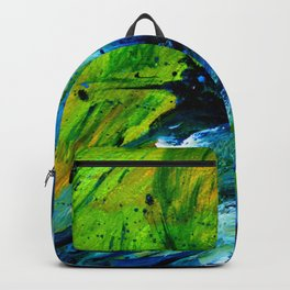 Butterfly - Abstract acrylic painting art Backpack