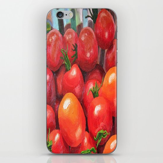 Cherry Tomatoes iPhone & iPod Skin