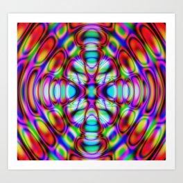 Trippy Abstract Art Print