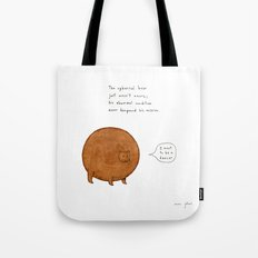 the spherical bear Tote Bag