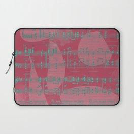Schumann Sheet Musical - Carnaval Laptop Sleeve