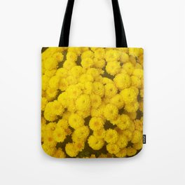 Autumn Gold - Chrysanthemums Tote Bag