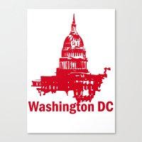 washington dc Canvas Prints featuring Washington DC  by ialbert